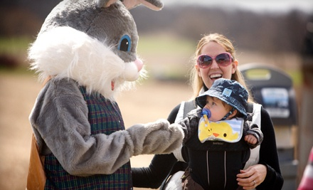 2 Admissions to the Bunny Bonanza on April 21 and 22, or April 28 and 29 (a $16 value) - Busy Barns Adventure Farm in Fort Atkinson