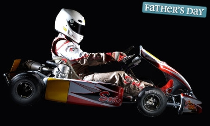 G-Force Karts - Richmond: $20 for Two Adult Kart Races at G-Force Karts (Up to $44 Value)