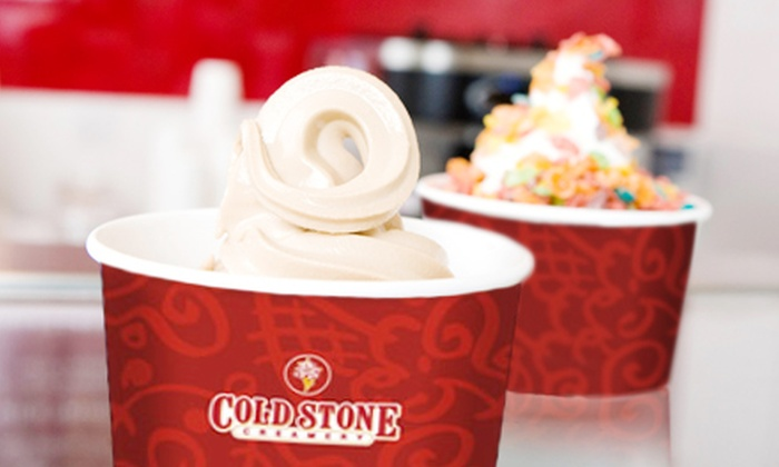 Cold Stone Creamery - Multiple Locations: $5 for $10 Worth of Custom-Crafted Frozen Yogurt at Cold Stone Creamery