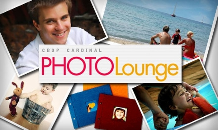 PhotoLounge - Center City West: $30 for a Personalized Photo Book at PhotoLounge ($50 Value)