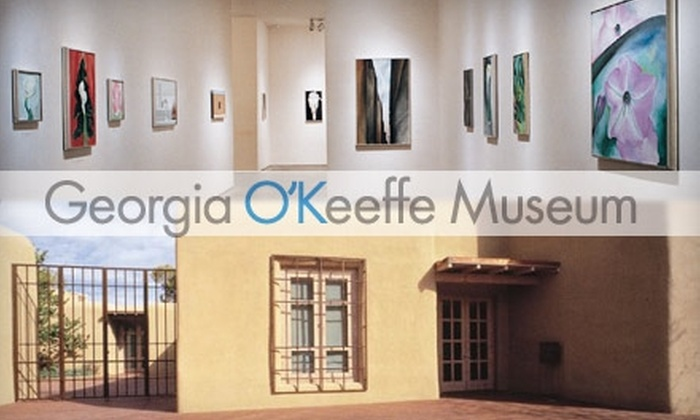 Georgia O'Keeffe Museum - Downtown Santa Fe: One-Year Membership to the Georgia O'Keeffe Museum. Choose an Individual or Family Membership.