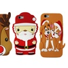 Santa Claus and Reindeer Holiday Cases for iPhone 6/6s