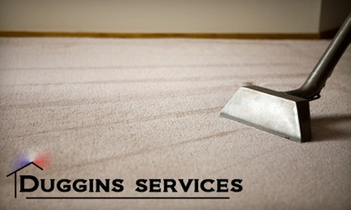 Duggins Services - Pensacola / Emerald Coast: $99 for a Five-Room Carpet Cleaning from Duggins Services