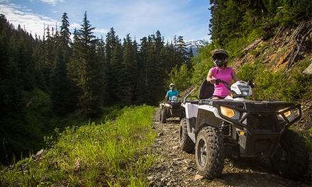 $115 for an ATV Wilderness Tour for a Driver and Passenger from The Adventure Group ($188 Value)