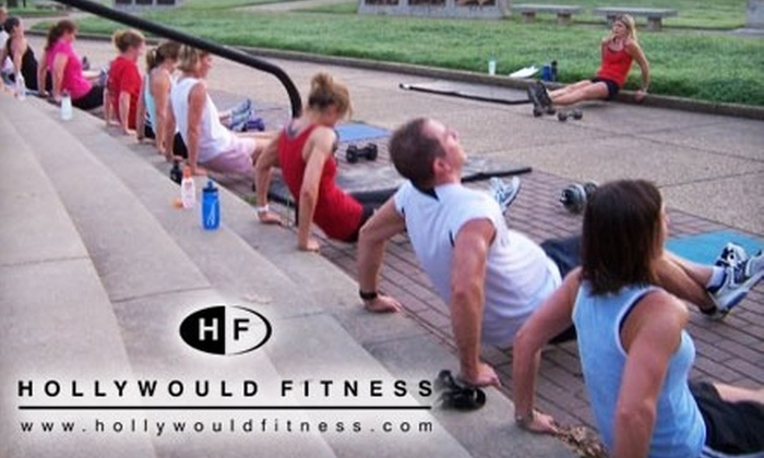 HollyWould Fitness - Belleair Woods Neighborhood Association: $29 for One Month of Sunrise Workouts, Including Cardio and Weights, from HollyWould Fitness ($60 Value)