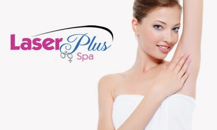 Laser Plus Spa - Bellmore: $150 for Six Laser Hair-Removal Treatments at Laser Plus Spa ($450 Value)