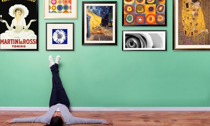 Art.com: $50 for 100 Worth of Wall Décor, Including Framed Art, Prints, and Posters, from Art.com