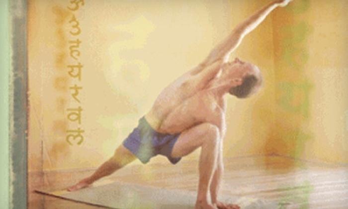 Inner Vision Yoga - Kiwanis Park: $33 for One Month Unlimited Yoga for an Adult ($69 Value) Inner Vision Yoga