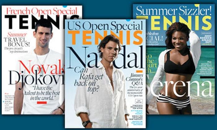 "Tennis Magazine - Ventura: $12 for a Three-Year Subscription to ""Tennis"" Magazine ($24 Value)"