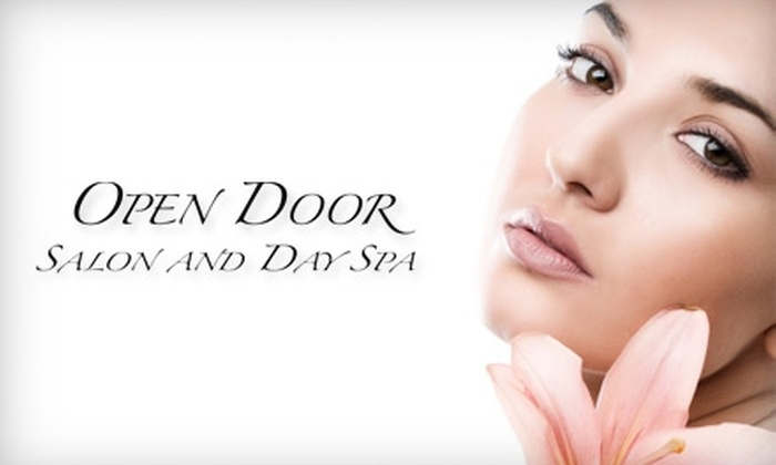 Open Door Salon & Day Spa - East Broad: $20 for $45 Worth of Facial, Hair, and Waxing Services at Open Door Salon & Day Spa