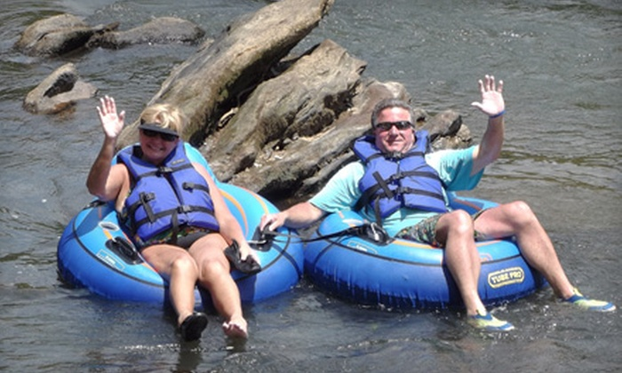 Saluda River Rafting - Easley: $25 for a 2.5-Hour River Tubing Adventure for Two from Saluda River Rafting in Easley ($50 Value)