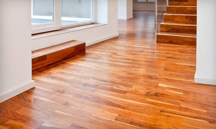 Cfc hardwood floors llc in columbia groupon for Hardwood floors 600 sq ft