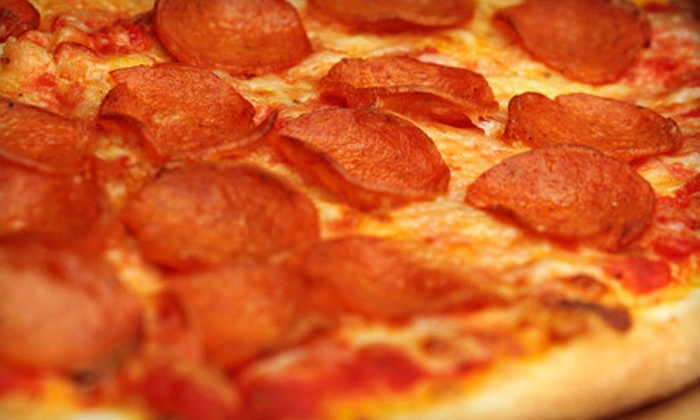 Jailhouse Pizza - Brandenburg: $10 for $20 Worth of Pizza, Sandwiches, and Pasta at Jailhouse Pizza