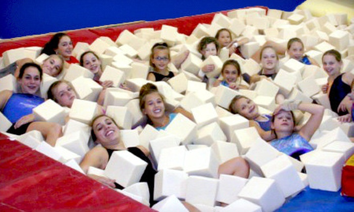 Gymstars Gymnastics - Gymstars Gymnastics: Two, Four, or Six Gymnastics Classes at Gymstars Gymnastics in Collierville (Up to 72% Off)