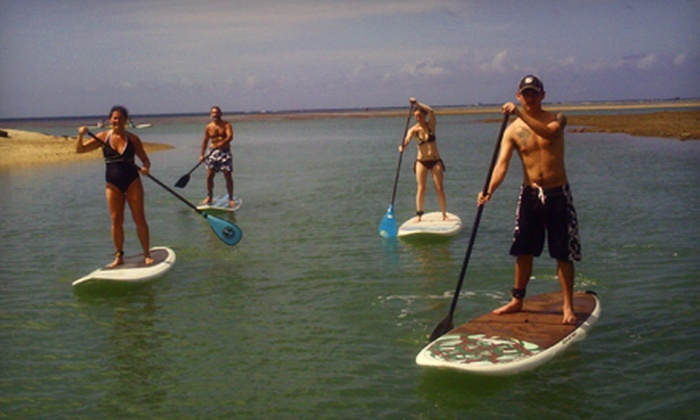 Hawaiian Surf Adventure - Hawaii Kai: $49 for a Two-Hour Standup Paddleboard Lesson and Tour with Hawaiian Surf Adventure ($99 Value)