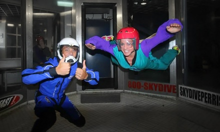 Two Indoor Jumps with DVD for One or Two at Skydive Perris (Up to 42% Off)