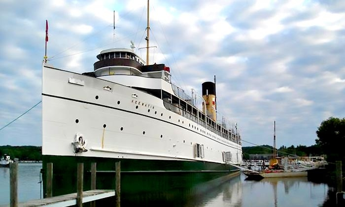 S.S. Keewatin - Port Mc Nicoll: C$10 for Two-Hour Upper Deck and Engine Room Boat Walking Tour of the S.S. Keewatin (Up to C$20 Value)