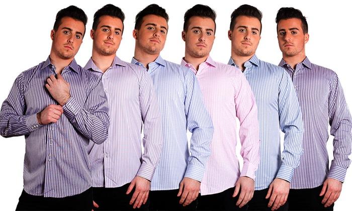 Elie Balleh Men's Cotton Collared Button-down Shirts