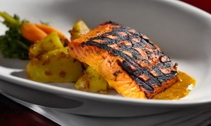 Copper Chimney Indian Grill & Bar: Indian-Fusion Dinner for Two or Four at Copper Chimney Indian Grill & Bar (43% Off)