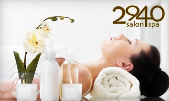 2940 Salon-Spa - Hillwood: $50 for $125 Worth of Services at 2940 Salon-Spa