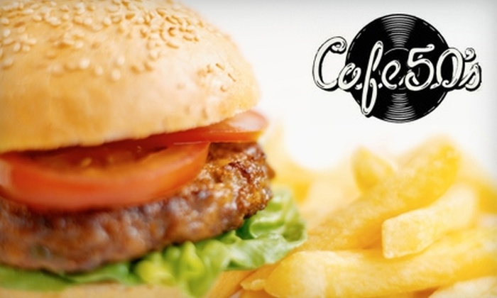 Cafe 50's - Sherman Oaks: $10 for $20 Worth of Diner Fare and Drinks at Cafe 50's in Sherman Oaks
