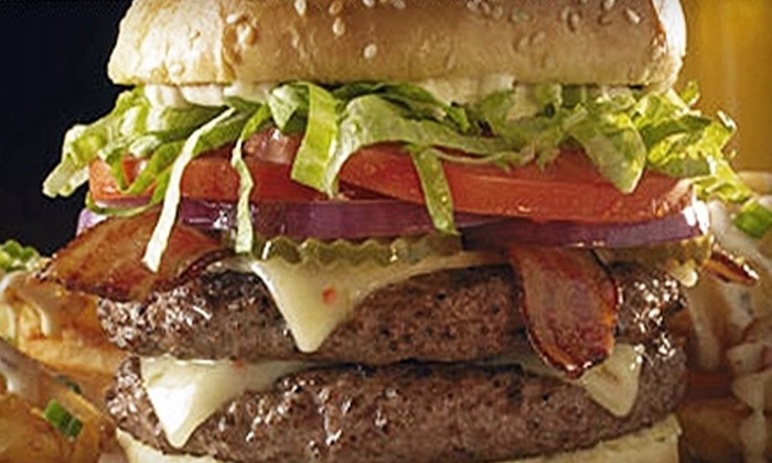 The Varsity - Mid-City West: $15 for $30 Worth of American Fare and Drinks at The Varsity Sports Bar and Lounge