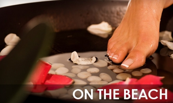 On the Beach - Valley Village: $20 for an Ion-Detox Foot Treatment or Relaxation-Capsule Session at On the Beach