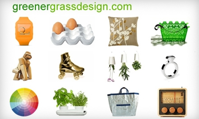 Greener Grass Design: $20 for $40 Worth of Home Décor, Accessories, and More from Greener Grass Design