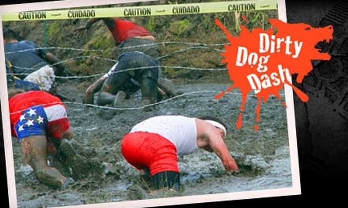 Dirty Dog Dash: $22 for One Admission to the Dirty Dog Dash ($45 Value)