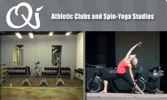 Qi Athletic Clubs & Spin-Yoga Studios - Five Points: $69 for 20-Visit Punch Card to Qi Athletic Clubs and Spin-Yoga Studios ($260 value)