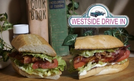 $12 Groupon to Westside Drive In - Westside Drive In in Boise