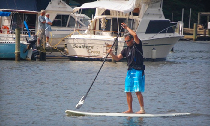 SUP Joey - Charleston: Half- or Full-Day Standup Paddleboard Rental or Standup Paddleboard Lesson from SUP Joey (Up to 52% Off)