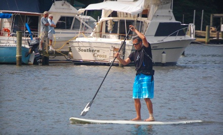 Half-Day Standup Paddleboard Rental (a $45 value) - SUP Joey in