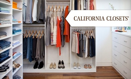 60 Off A Closet System California Closets Groupon