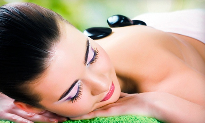 Sunset Massage - Greenfield: $99 for 60-Minute Hot-Stone or Hot-Towel Couples Massage at Sunset Massage (Up to $190 Value)
