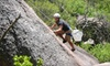 Rock About - Llano South: $49 for an All-Day Outdoor Rock-Climbing Outing from Rock-About in Fredericksburg ($100 Value). 14 Dates Available.