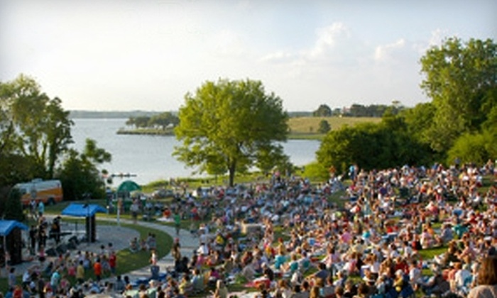 Dallas Arboretum - Dallas: $29 for One Adult Ticket to Four Concerts in the Garden at the Dallas Arboretum (Up to $64 Value). Four Packages Available.