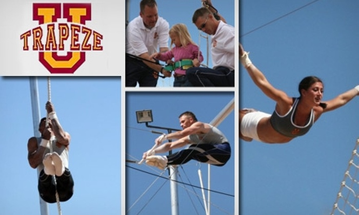 Trapeze U. - Chandler: $39 for a Two-Hour Flying-Trapeze Lesson at Trapeze U