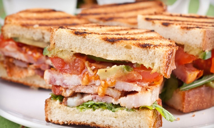 Tazas Coffee - Universal City: $12 for a Café Lunch for Two at Tazas Coffee in Universal City ($25.28 Value)