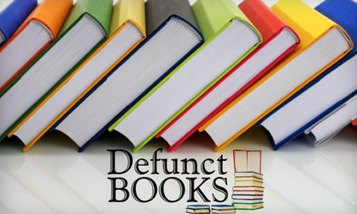 Defunct Books - Longfellow: $10 for $20 Worth of Books at Defunct Books in Iowa City