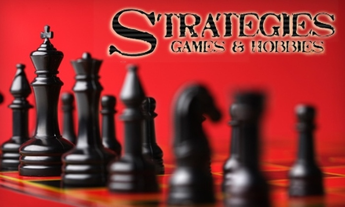 Strategies Games & Hobbies - Riley Park: $13 for $30 Worth of Games at Strategies Games & Hobbies