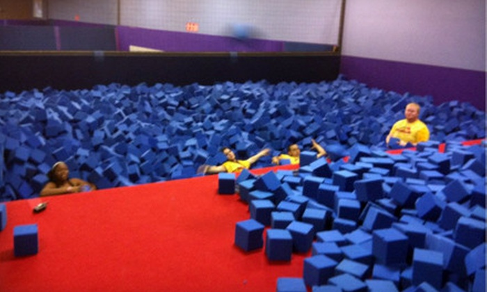 JumpStreet - Villas of Prestonwood Hills-Apartments: $60 for 10 One-Hour Visits to JumpStreet in Plano (Up to $120 Value)