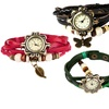 Women's Vintage Inspired Bohemian Vegan Leather Watch