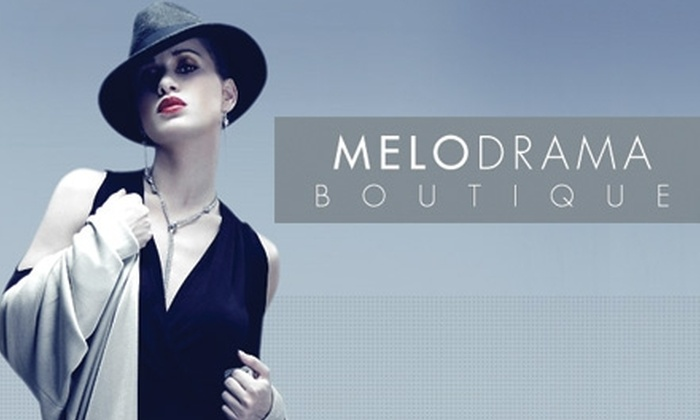 Melodrama Boutique - The Museum District: $50 for $100 Worth of Apparel at Melodrama Boutique