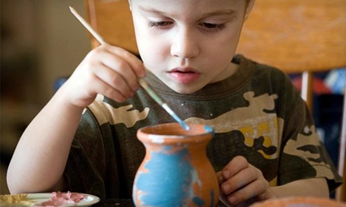 Milmont Mud Hut - Folsom: $20 for $40 Worth of Paint-Your-Own Pottery at Milmont Mud Hut in Folsom