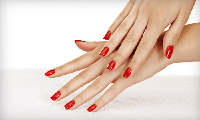 Ida's Salon - Northfield: $25 for a Spa Package with No-Chip Manicure, Sugar Scrub, and Paraffin Dip at Ida's Salon in Northbrook ($50 Value)