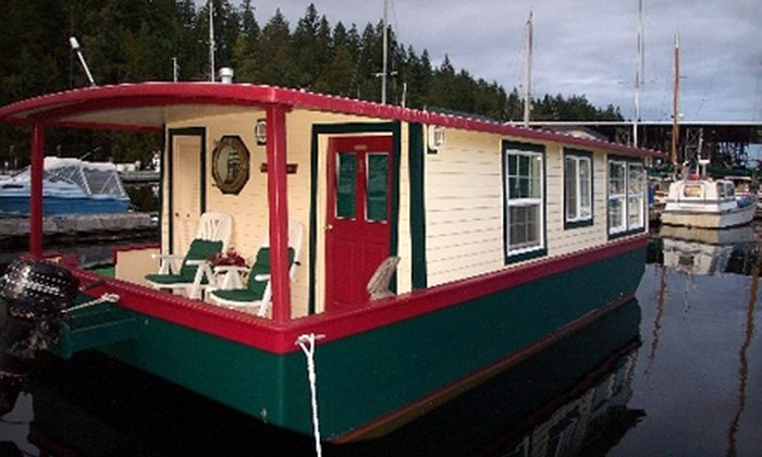 Houseboats for Two - Quilcene Bay: $239 for a Two-Night Stay from House Boats for Two in Brinnon