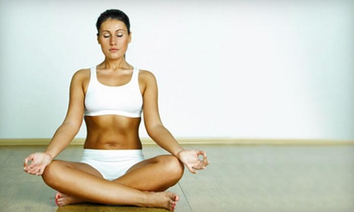 Joy Yoga Center - Washington Ave./ Memorial Park: $25 for 25 Classes at Joy Yoga Center ($282 Value)