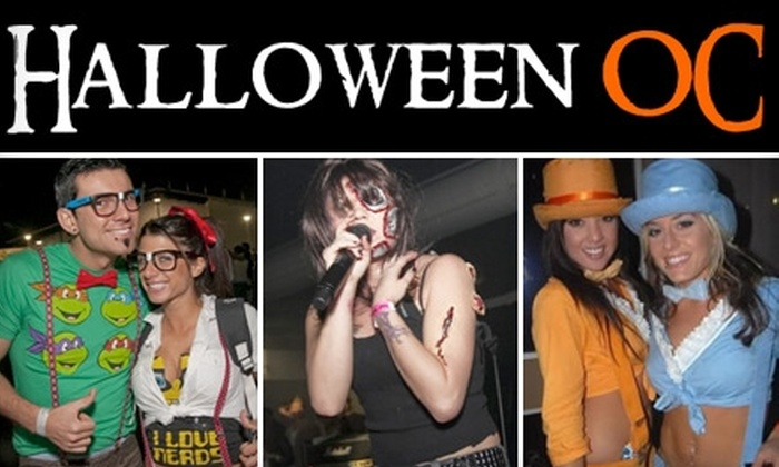 Halloween OC - Costa Mesa: $24 for One General-Admission Ticket to the Halloween OC Costume Ball and Party on October 30 (Up to $60 Value)