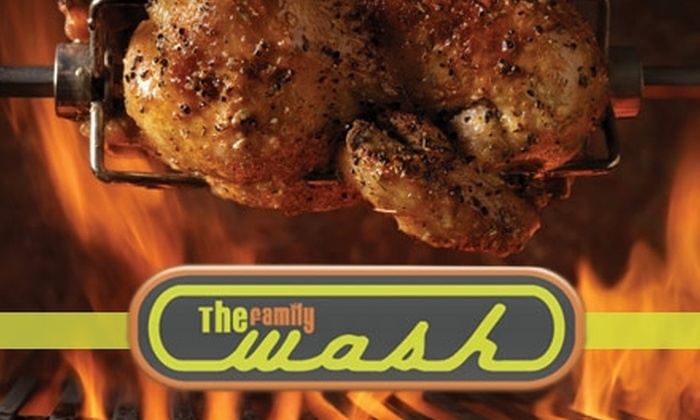 The Family Wash - Eastwood: $15 for $30 Worth of Drinks and Food at The Family Wash